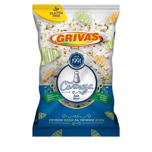 Пакет безглутенови пуканки с вкус паприка - Гривас